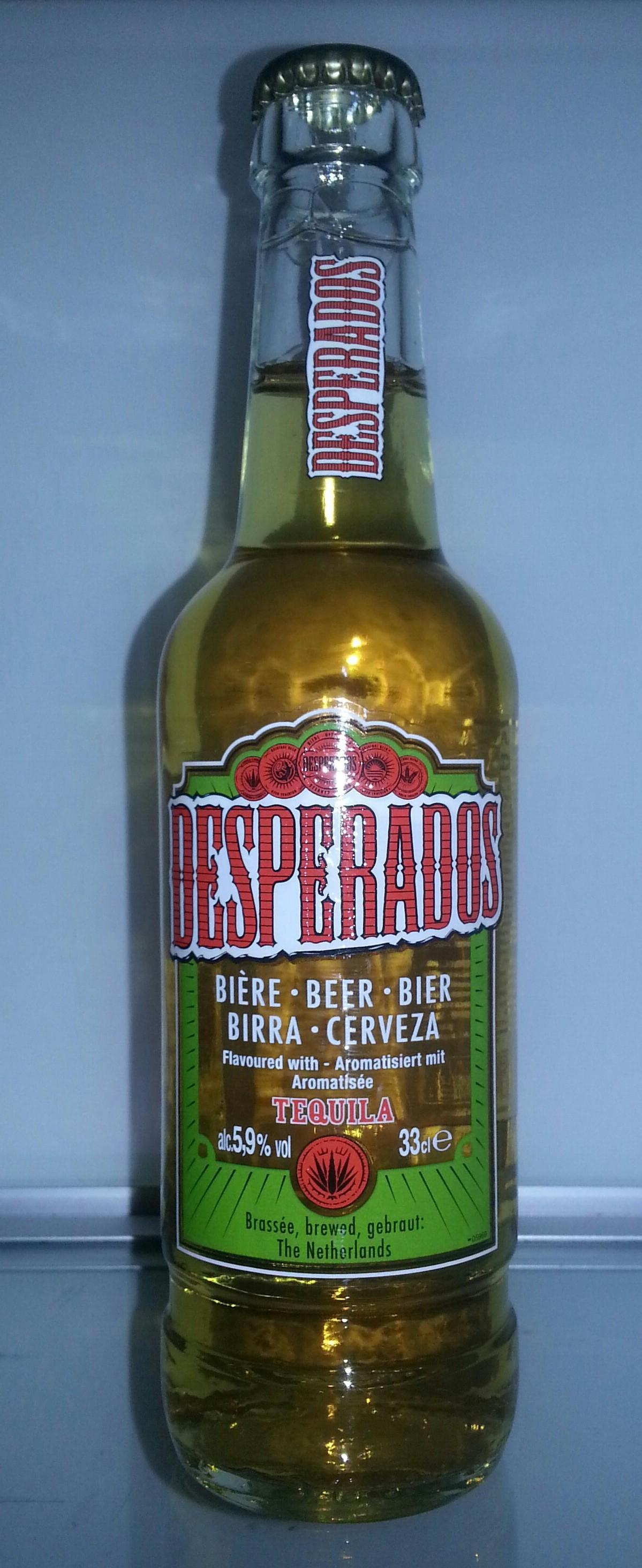 eine Flasche Desperados